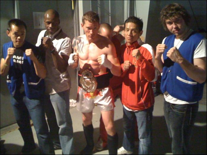 Derek With Team Belt